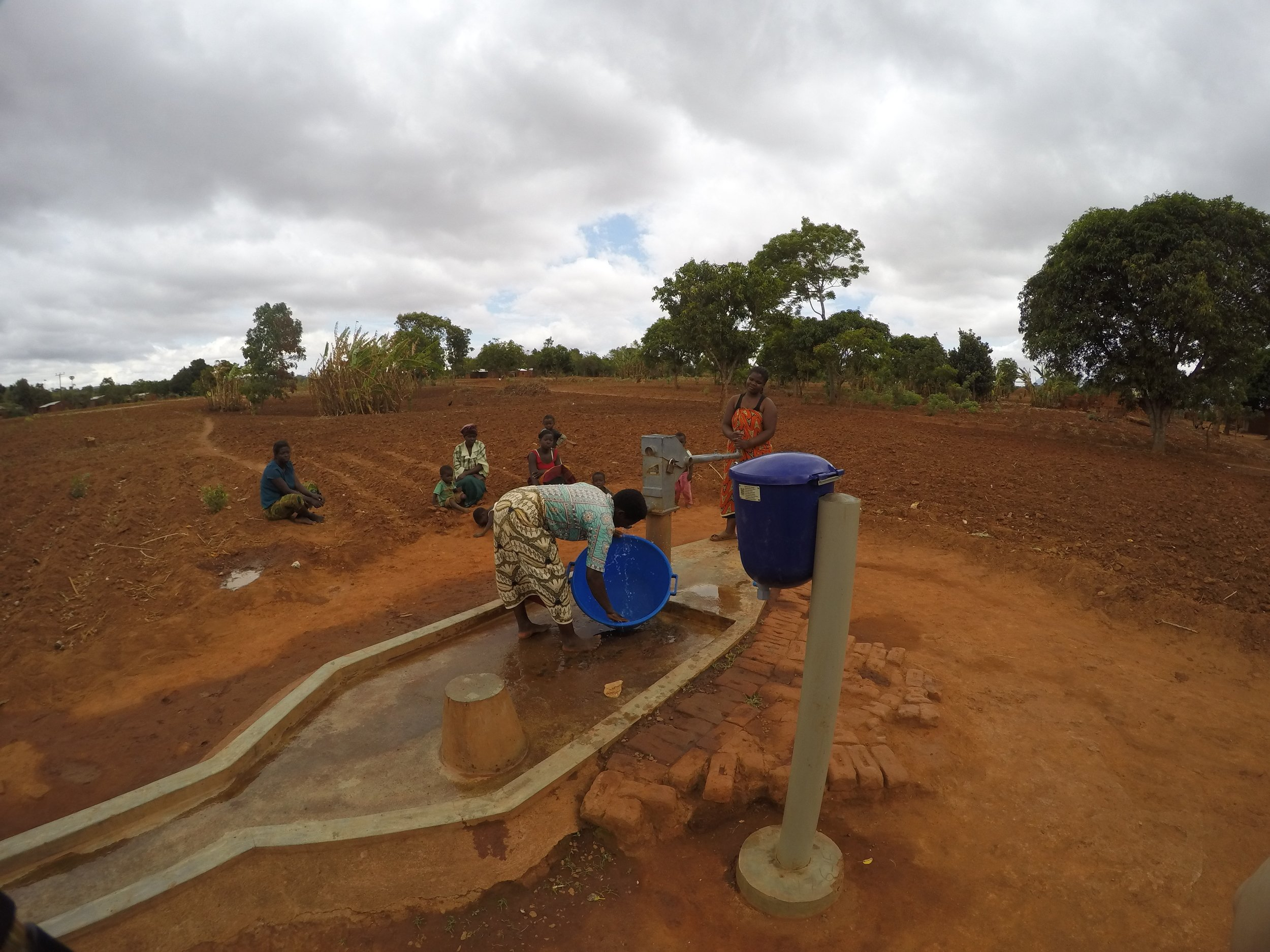 Dispensers for Safe Water: A Day in the Life