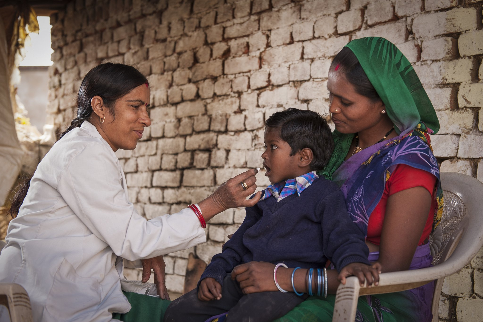 Observing National Deworming Day, August 2017