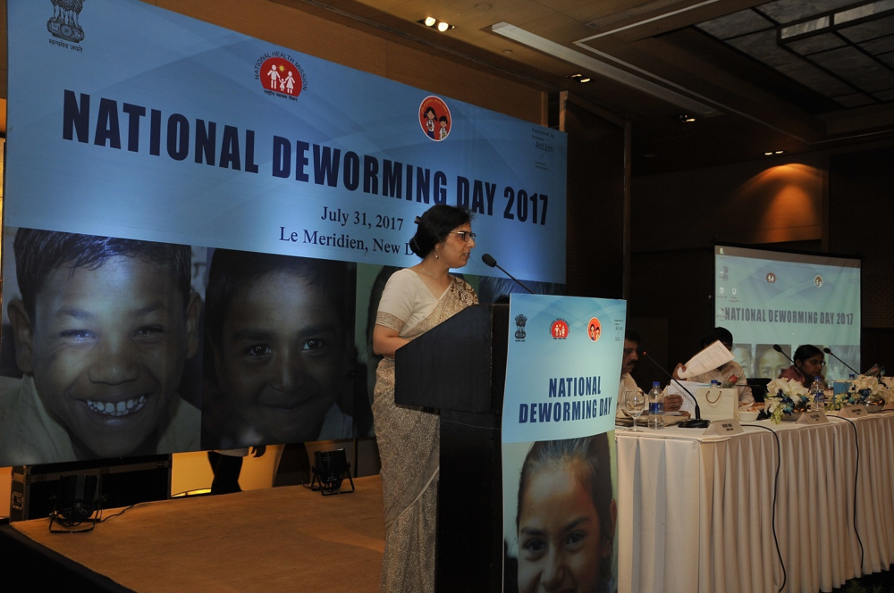 India's National Deworming Day takes months of planning and organizing