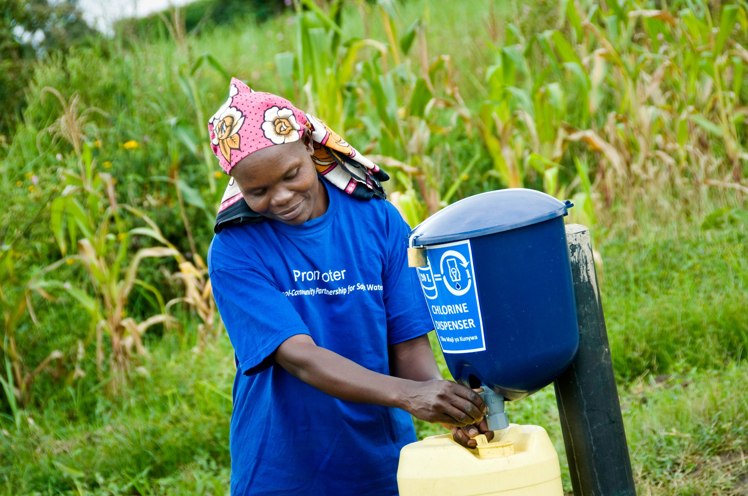 Dispensers for Safe Water: Reflections on financial sustainability
