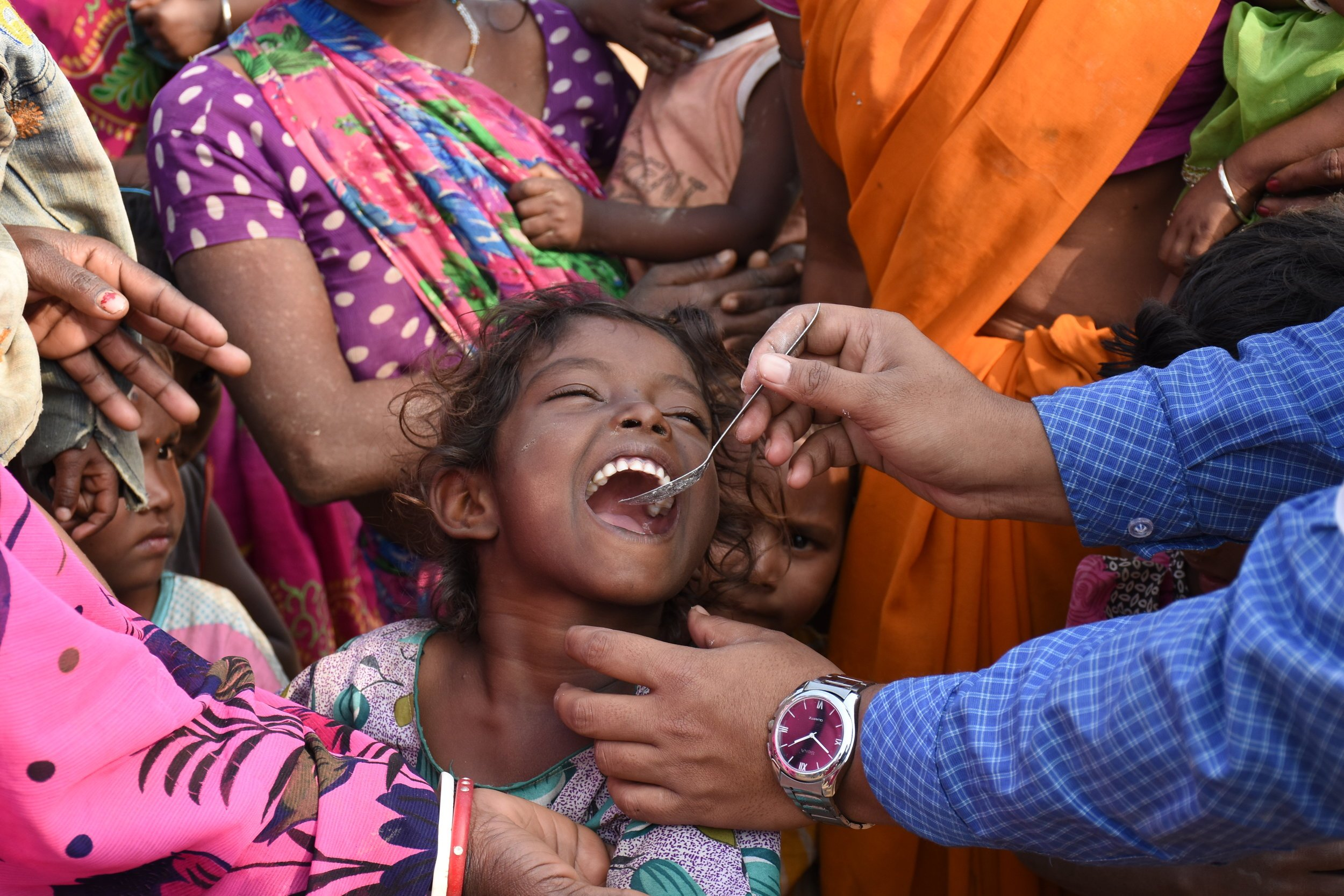 Expanding Deworming to Migrant Populations in India under National Deworming Day
