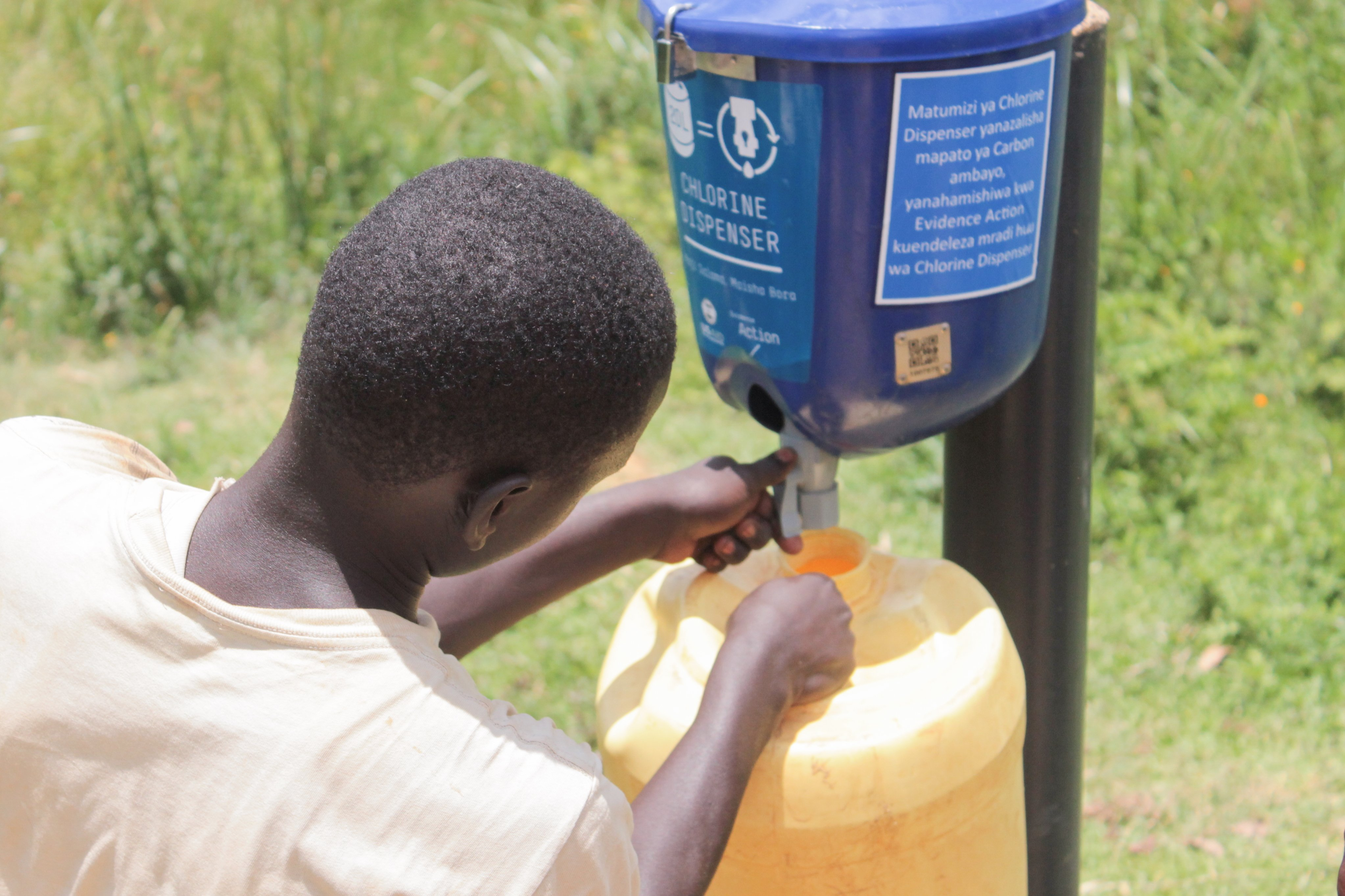 Using Data to Drive Demand for Chlorine Dispensers in Africa