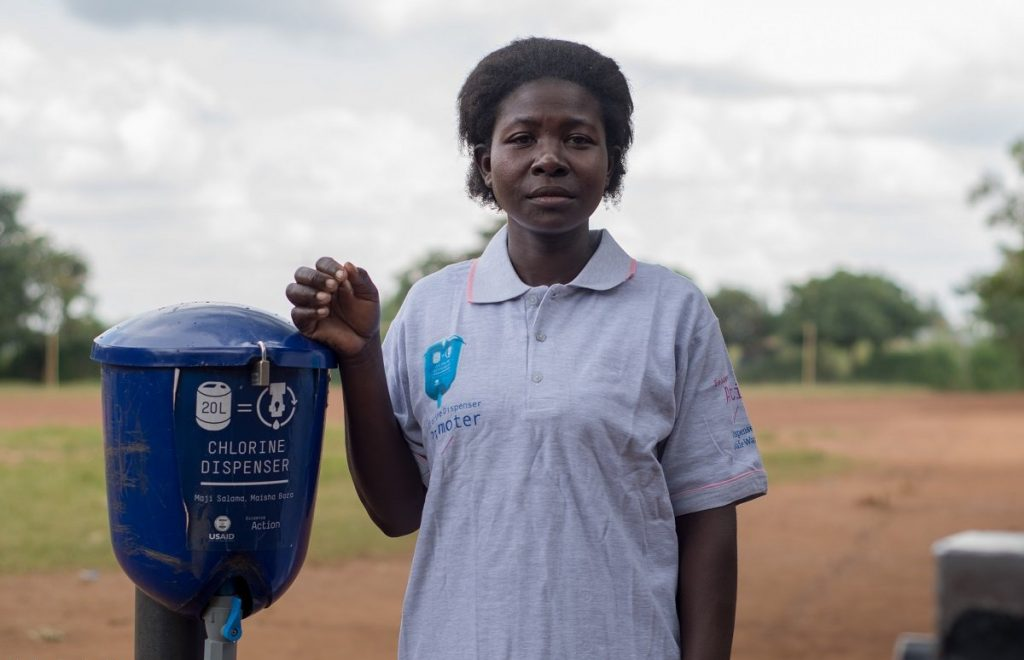 Harnessing Dispensers for Safe Water's Contribution to Managing Climate Change